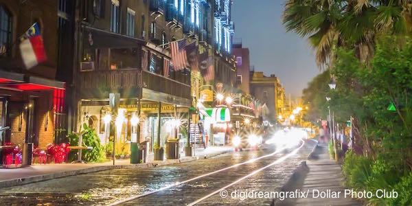 Savannah Christmas Lights