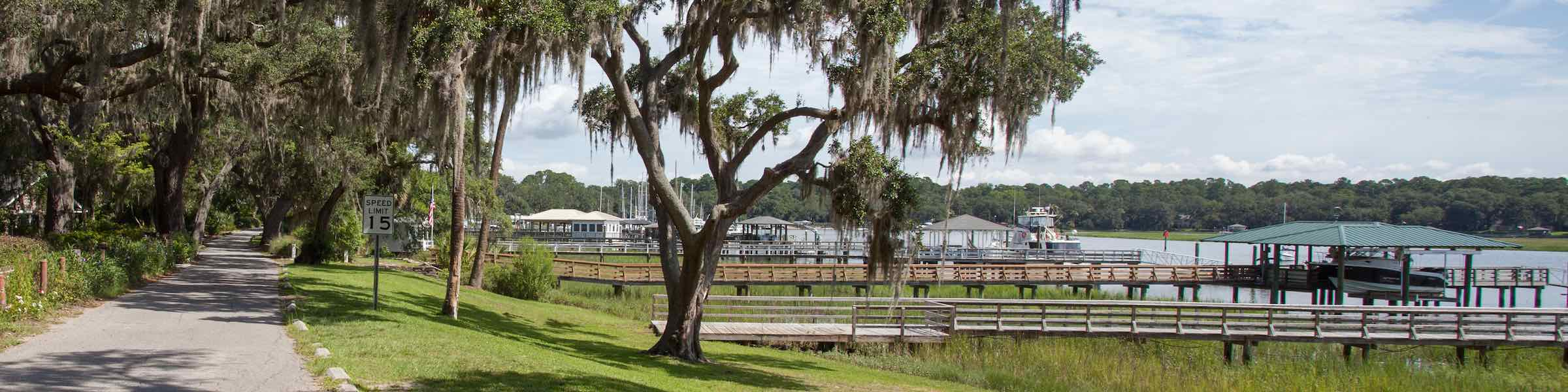 Bluff Drive, Isle of Hope, near Savannah, GA.