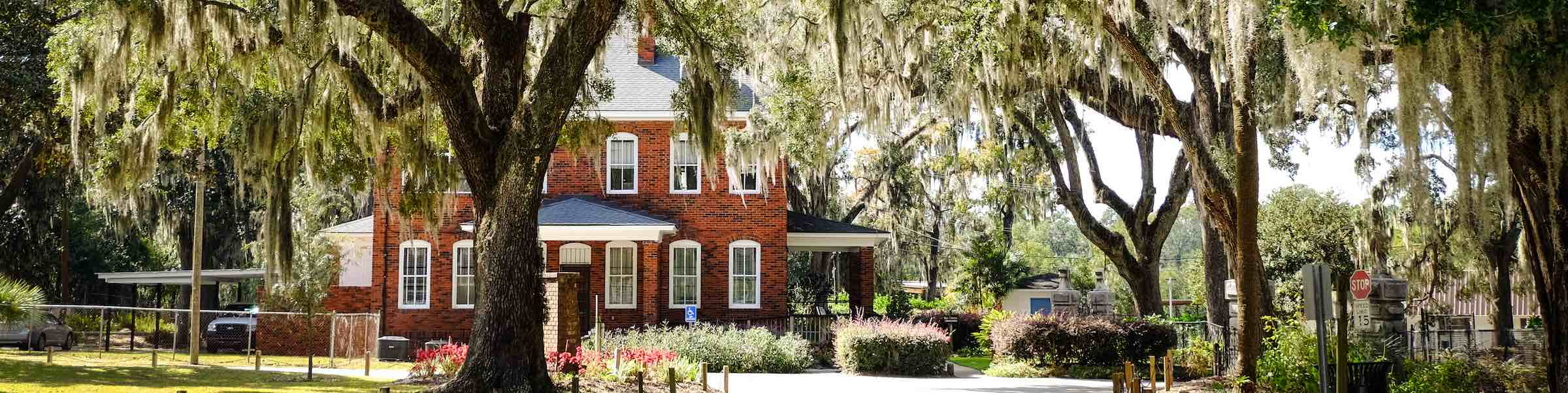 The old keeper's house at the entrance to Bonaventure Cemetery, Savannah, GA.